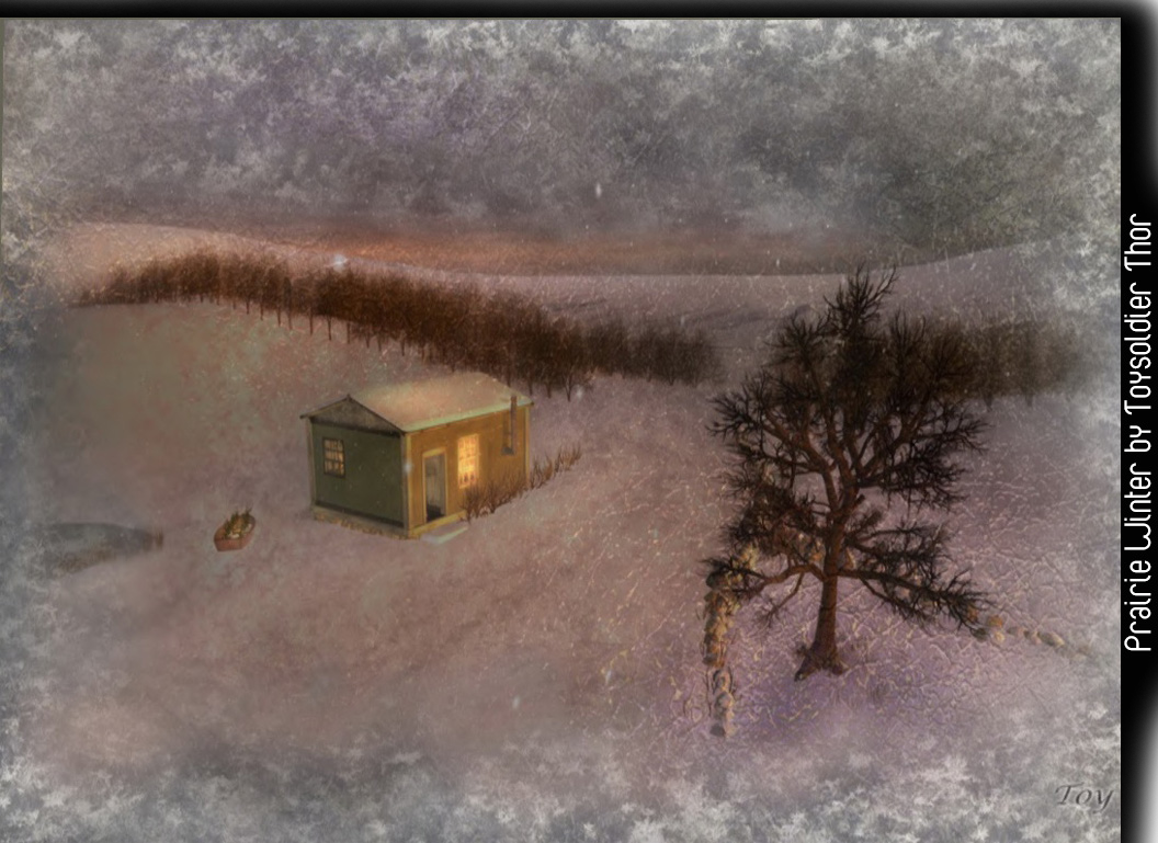 Prairie Winter by Toysoldier Thor, podex art gallery, second life